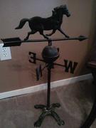 old horse weathervane