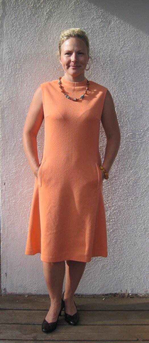 Peach Scooter Dress
