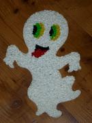 Plastic Popcorn Ghost