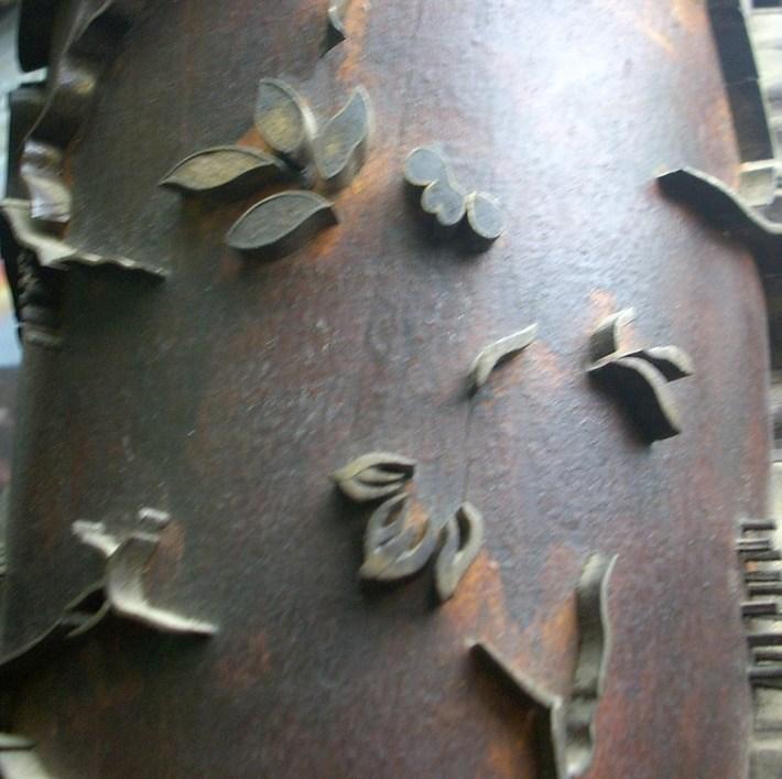 Antique Wallpaper roller