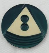 VIntage Plastic Keyhole Button
