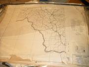 OVER 150 VINTAGE HIGHWAY MAPS 1936