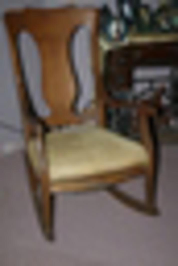Quarter Sawn Oak Rocking Chair