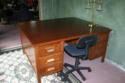 Turn of the century Oak Partner Desk