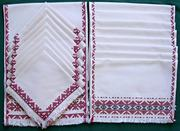 Table Runner, Placemats and Napkins Set