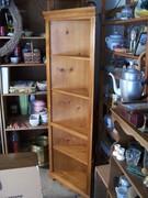 Corner Shelf - wood