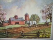 Vintage Wolcott Farming Art Prints