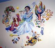 400 sq ft mural