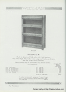 Widman Sectional bookcase detail