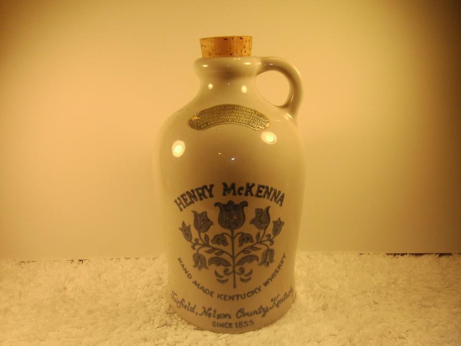Henry Mckenna Whiskey Bottle 1855
