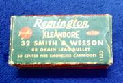 vintage Remington Smith & Wesson ammo box
