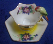 Made in Japan bird cup and saucer