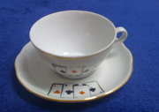 Four Aces cup and saucer