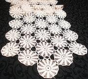 Hand Crocheted Dresser Scarf