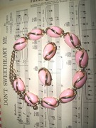 Designer Signed Coro Choker Necklace and Earrings,http://jupitermoon.artfire.com