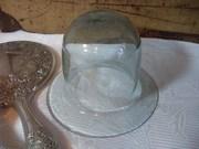 Neat Old Glass Cloche