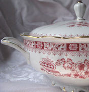 """Seltmann Large Round Covered Side Dish Vegetable Serving Bowl """"Theresia"""""""