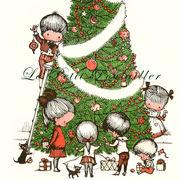 Joan Walsh Anglund Christmas Poster Lithograph