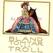 John Bauer, 1914 Among Gnomes and Trolls, Art Nouveau Fairy Tale Cover