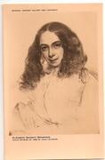 postcards-National Portrait Gallery - Eliz. Browning