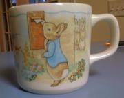 Wedgwood Beatrix Potter Peter Rabbit mug