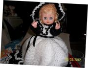 Bed Doll, in Black and White outfit