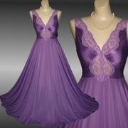 Vintage Olga Bodysilk Nightgown