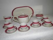 Vintage Heutchenreuter Tea Set,Made in Germany