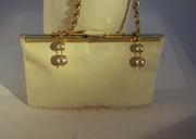 Etra Ebossed leather handbag