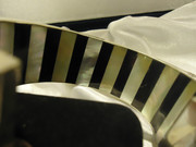 Inside Detail of striped inlay