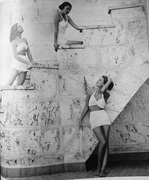 The white swimsuits of 1946