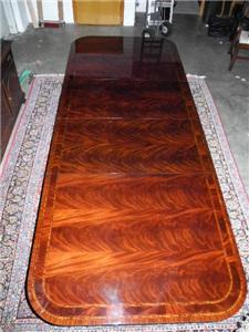 Hickory Chair Large Charleston 10 ft Dining Conference Table