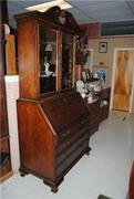 7 ft Tall Bookcase Secretary by LaneVenture - Copy