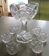 Dolls Punch Bowl and Cups