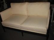 EJ Victor Quality Sheraton Federal Period Love Seat - Copy