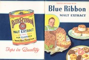 1951 Blue Ribbon Malt Extract advertising Cookbook