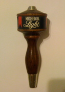 vintage beer tap handle