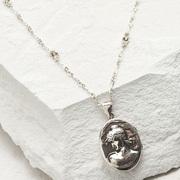 1900's 'LHL' Locket Necklace