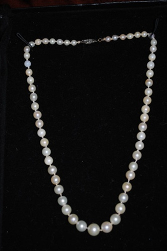 Lady's Cultured Pearl Necklace From Jewelry Artisans