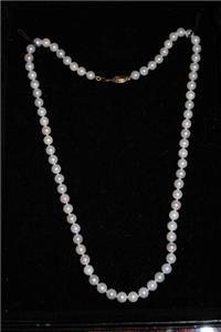 Estate Pearl Necklace