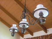Beautiful Hanging triple light fixture