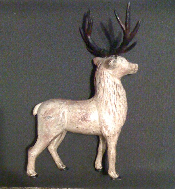 cast iron elk still bank