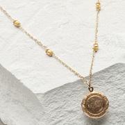 1940's Sweet Heart Locket Necklace