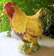 Vintage Rooster Pitcher