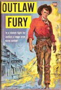 Outlaw Fury Avon 770 1952 Western Paperback