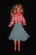 1967 Authentic Barbie Doll Mailbu Skipper Excellent Condition