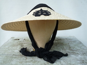 Vintage Pagoda Hat With Scarf Wrap 1940's