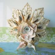 SOLD Vintage Sea Shell Art