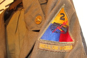 Vintage Army Jacket Hell on Wheels Patch