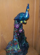 Peacock Lamp After Another View